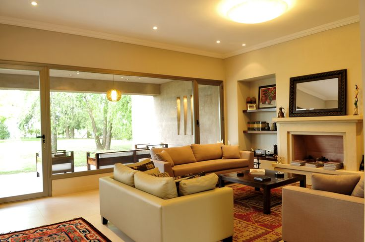 Arquitectura - Paisajismo - Ricardo Pereyra Iraola - Buenos Aires - Argentina - Casa - Living - Detalles - Hogar - Chimenea
