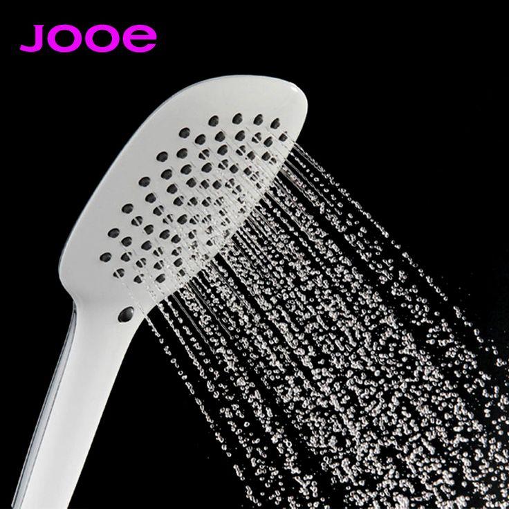 JOOE handheld shower head water saving switch round Chrome bath rain shower soffione doccia ducha chuveiros pommeau de douche