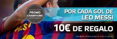 el forero jrvm y todos los bonos de deportes: suertia bono 50 euros Messi marca Barcelona vs Cit...