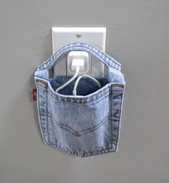 iPod charging station wall charger Levi's docking by SunnyLemons