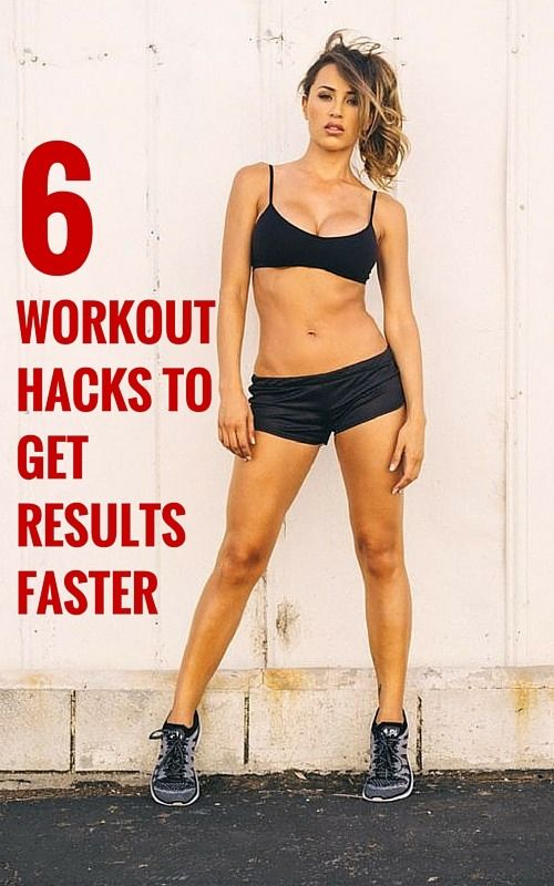 workout shortcuts to get results faster