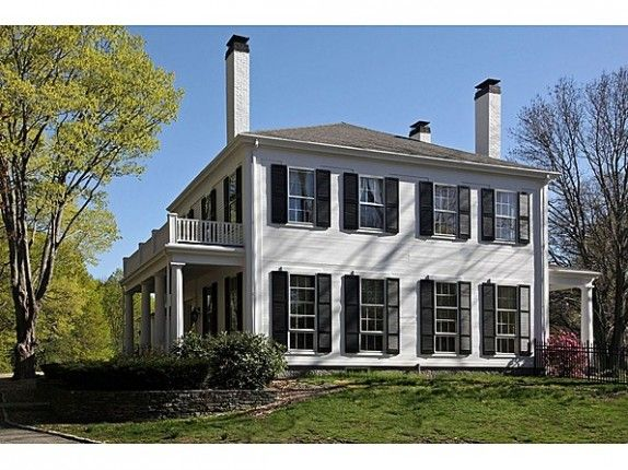 This is my colonial home I want so badly!!  Hingham, MA. Built in 1830