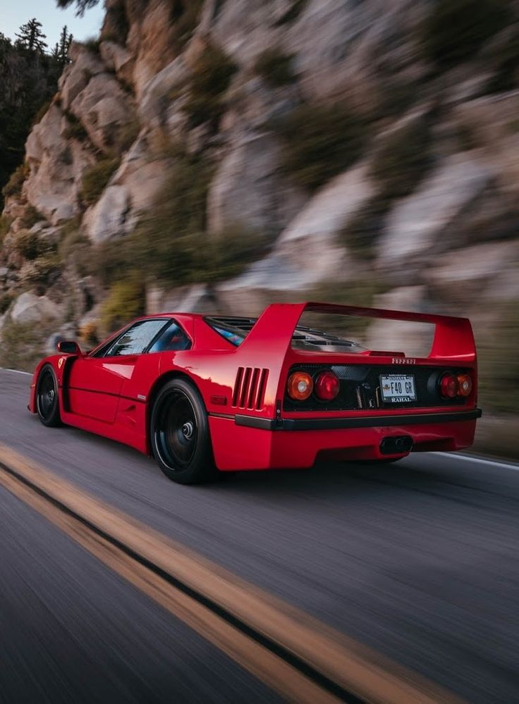 Ferrari F40 Strikes A Pose With HRE Wheels