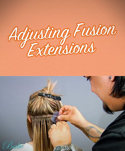 52 best hair extensions tips stylists images on pinterest how to adjust fusion extensions pmusecretfo Image collections