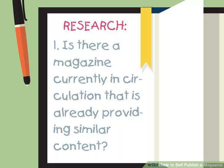 Image titled Self Publish a Magazine Step 1