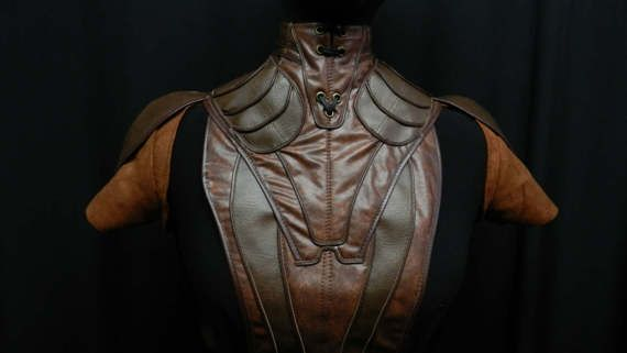 Star wars Bastila Shan's costume faux leather armor