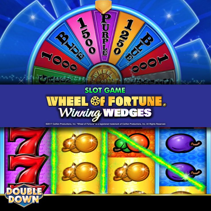 double down casino wheel of fortune slots
