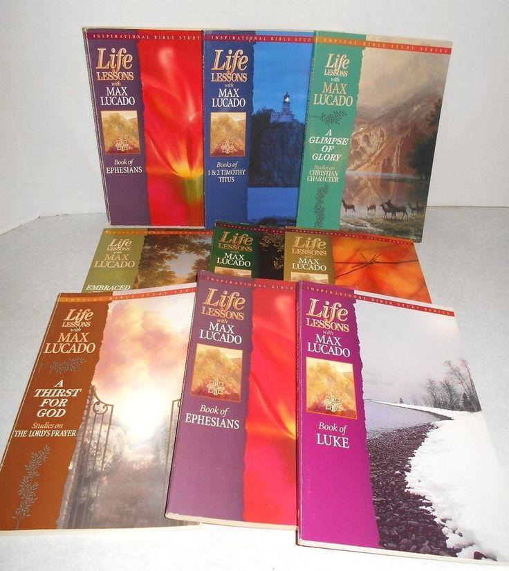 Life Lessons Bible Study Series - Max Lucado ...
