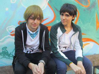 Frankenmexx #4 2015 Kida & Mikado DRRR Cosplay