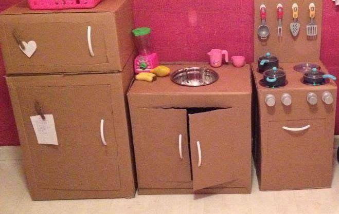 mutlu anne babalar mutlu çocuklar: Onların da Mutfakları Olmalı...
