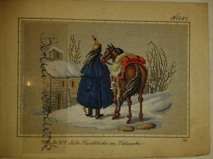 A Berlin WoolWork Pattern Produced By H.F.Müller ~ eBay.de
