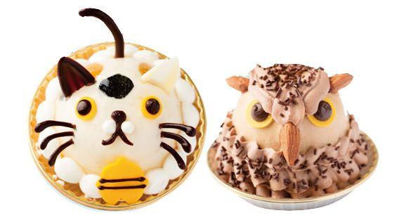 ネコ&フクロウのケーキが池袋ハンズに!
