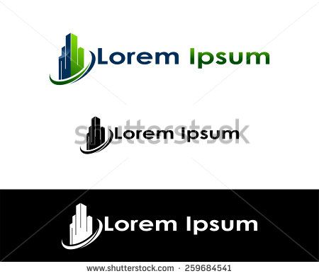 Icon for real estate, construction and insurance businessIcon for real estate, construction and insurance business