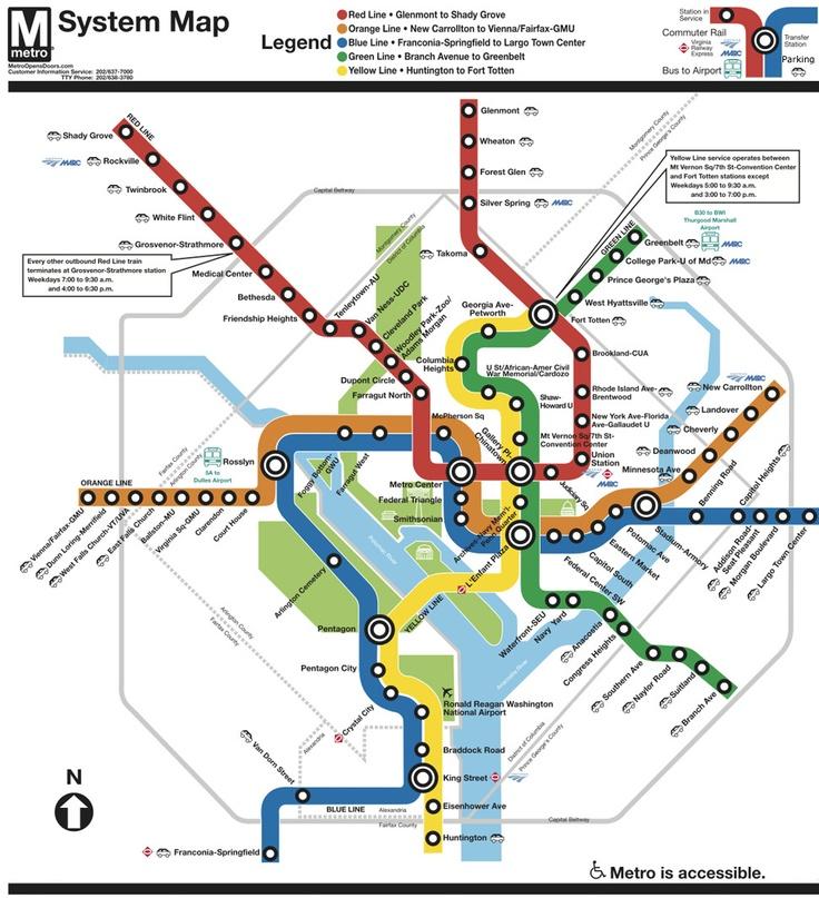 How to Use the Washington, DC Metro
