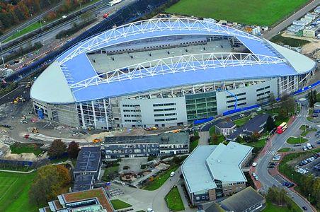The Amex Stadium in Falmer, Brighton. Current home of Brighton & Hove Albion FC #bhafc