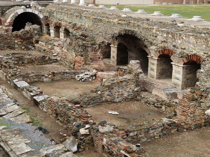 The Roman Ancient Market in Thessaloniki