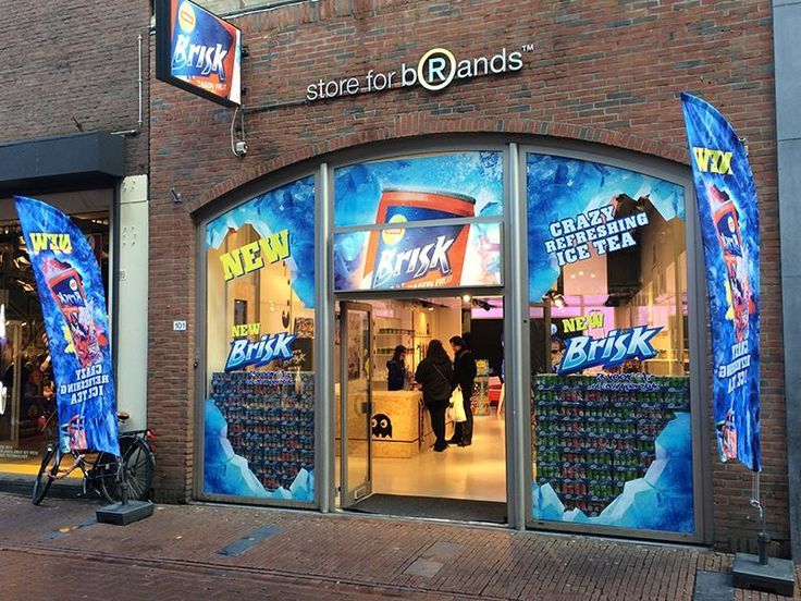 Pop-Up store Amsterdam - Just Brands