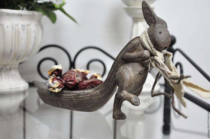 Купить Подставка под украшения Кролик в стиле Прованс, Шебби-Шик - декор интерьера