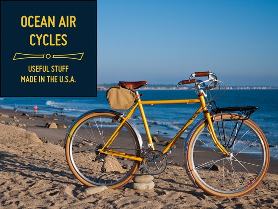 Ocean Air Cycles Rambler - Sport Touring Bicycle Revitalized by Ocean Air Cycles - Rob Perks, via Kickstarter.