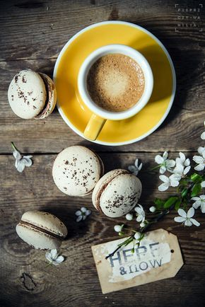 Coffee & macaroons