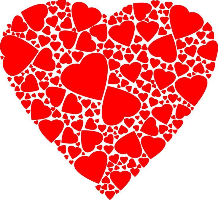 Umenie, Fraktálne, Srdce, Láska, Vášeň, Vzťah
