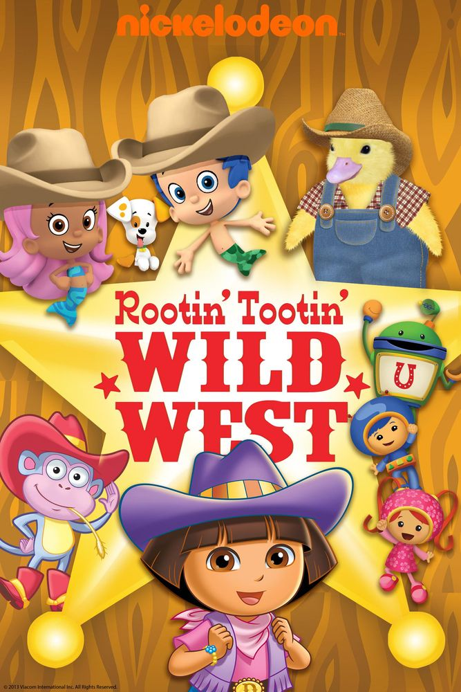 Nickelodeon Favorites: Rootin' Tootin' Wild West! Movie Poster - Christopher Borger, Brianna Gentilella, Selena Gonzalez  #NickelodeonFavorites, #RootinTootinWildWest, #MoviePoster, #HenryMadden, #KidsFamily, #Marksalisbury, #BriannaGentilella, #ChristopherBorger, #Poster, #SelenaGonzalez