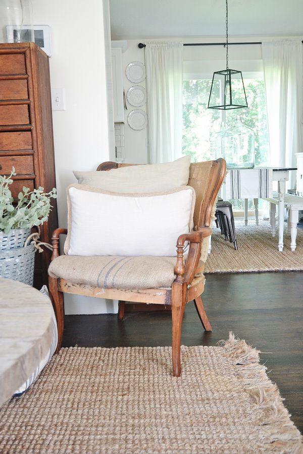 Deconstructed Chair Farmhouse Decor Pinterest