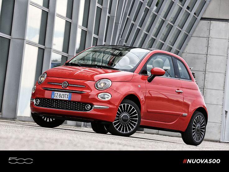 Nowy Fiat 500 Cabrio w kolorze rosso – wakacje cały rok!  #FiatPolska #Nowa500 #Cabrio #rosso #wakacje