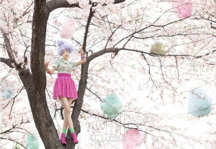 Vogue Girl Korea: Sweet Blossom May 2010