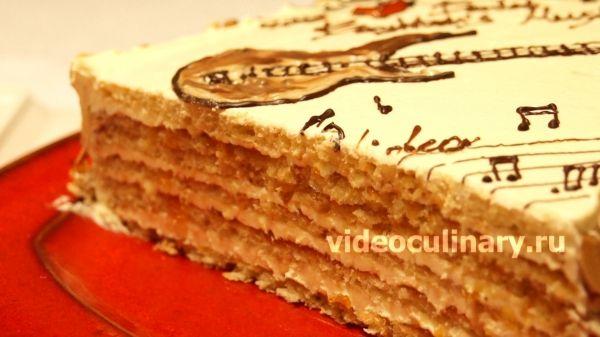 Торт Музыкальная шкатулка от videoculinary.ru