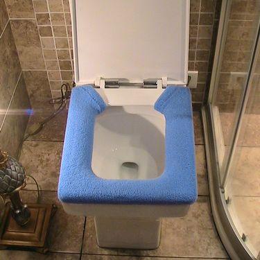 Ai дома u круглые места туалета, квадратный Туалет установить утолщенные кнопка туалет туалет туалет установить сезоны