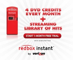$0 for 1st month of Redbox instant by Verizon ~ streaming and 4 box rentals ~ NO obligation