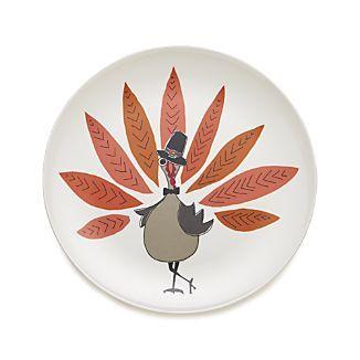 Pilgrim Turkey Melamine Plate I Crate And Barrel