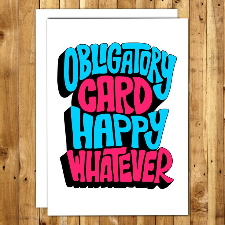 funny personal wedding card matter%0A Funny birthday card  Birthday Card For Him  Birthday Card For Her   Sarcastic Card