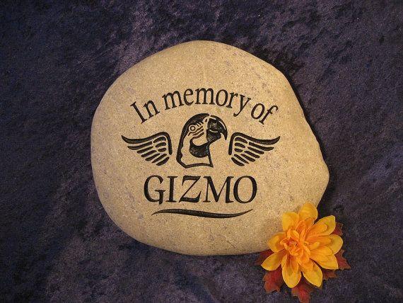 "Engraved Pet Memorials/Grave Markers/Stones/Gifts/Pet Headstones/Pet Grave Stones, Personalized-Medium apx. 7""-8"""