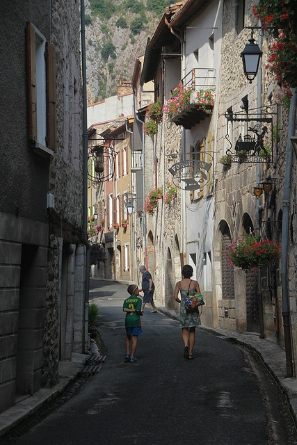 Villefranche-de-Conflent, Pyrénées-Orientales, Languedoc-Roussillon (France).