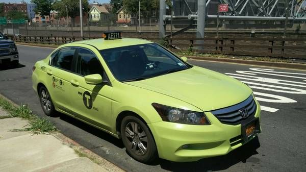 Green CAB PERMIT + Honda Accord 2012 SE Fully loaded