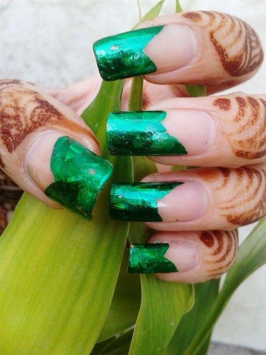 Mejores 151 imágenes de transfer foil nail art & nails by nded en ...