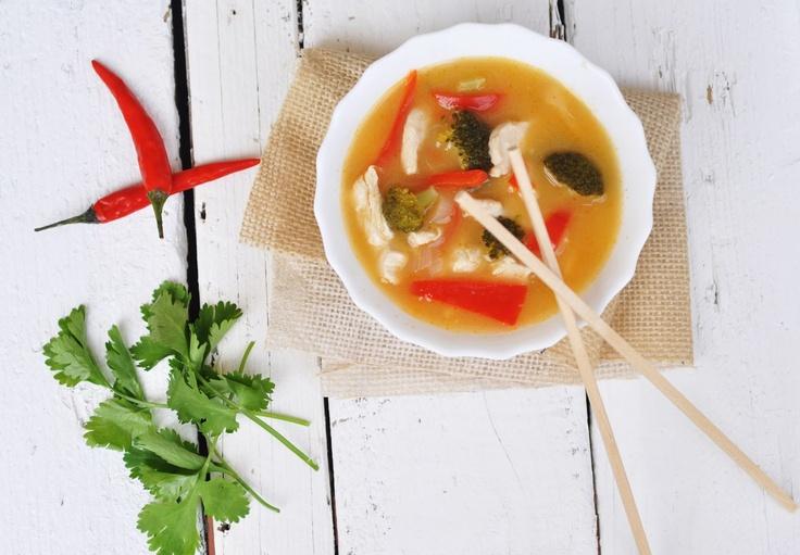 Thai Chicken Lemongrass Soup