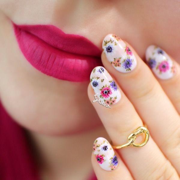 Matching Lips & Nails