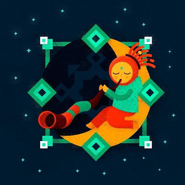 Диджериду - персонаж для фирменного стиля фестиваля INAYA @inayafest   Didgeridoo is a character for INAYA festival identity   #illustration #illustrator #behance #dribbble #bestvector #character #identity #didgeridoo #mystic #music #design #graphic #graphicdesigner #vector #дизайн #иллюстрация #иллюстратор #вектор #персонаж #фирменныйстиль #brandidentity