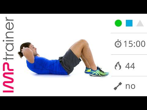 15 Minuti Di Esercizi Per Tonificare Gli Addominali - YouTube