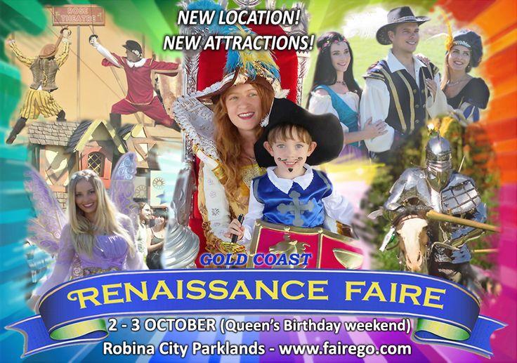 Gold Coast Renaissance Faire, Robina City Parklands