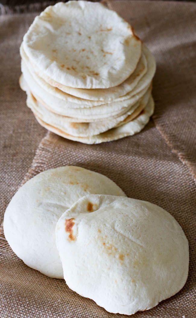 HOW TO MAKE AND BAKE PITA BREAD  - pita bread recipe