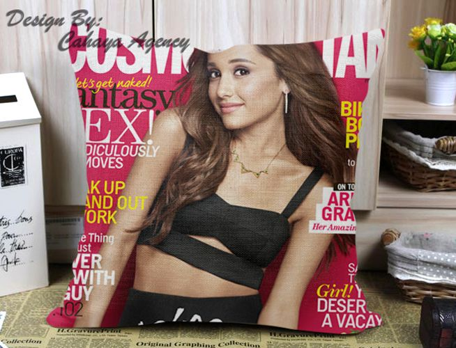 Ariana Grande Pose Pillow Case One Side/Two Side