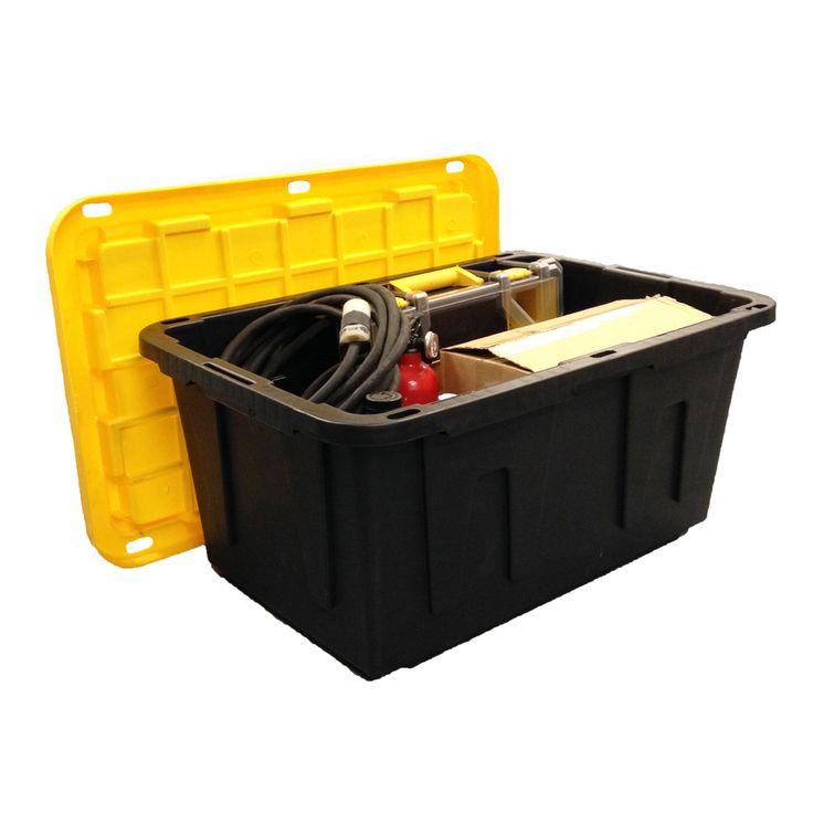 Centrex Plastics Llc Commander 27 Gallon Tote With