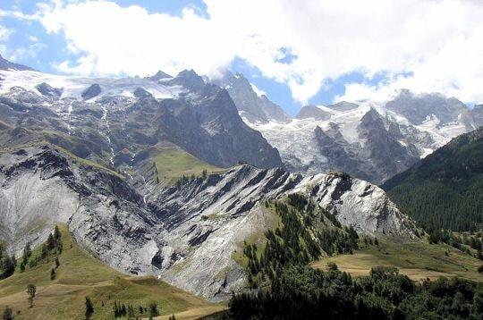Le massif des Ecrins. Hautes-Alpes