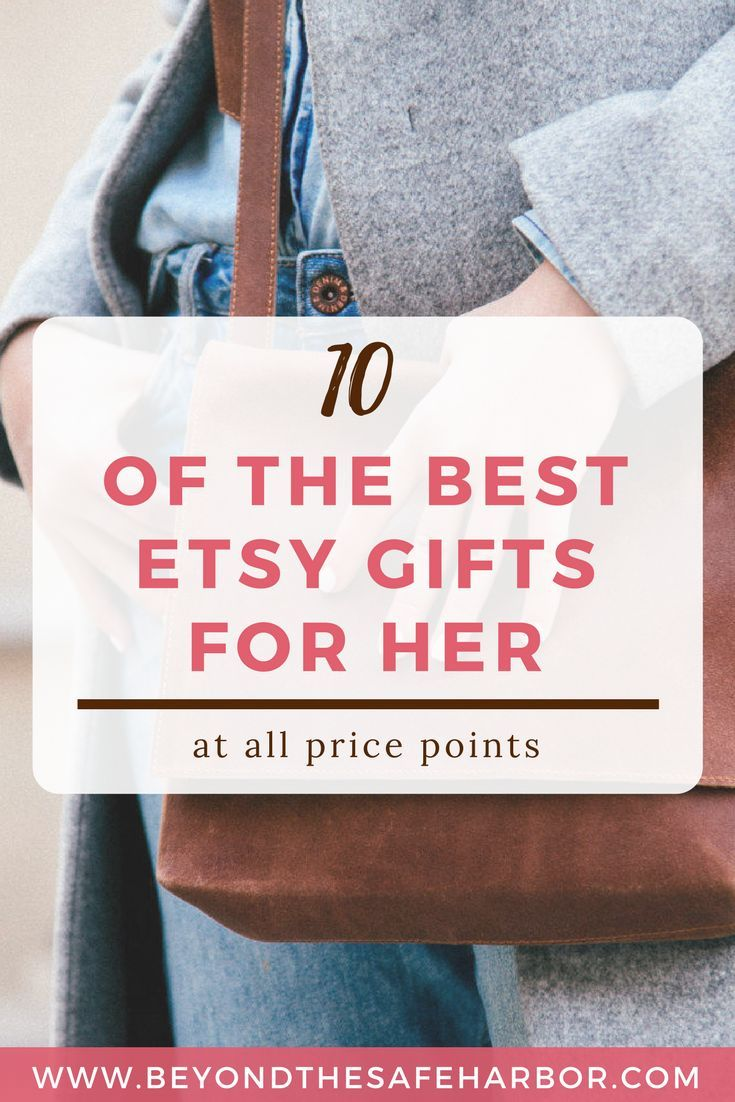 10 of the Best Etsy Gifts for Her | Looking for unique presents? Here are 10 of the best Etsy gifts for her that are sure to impress every woman on your list!