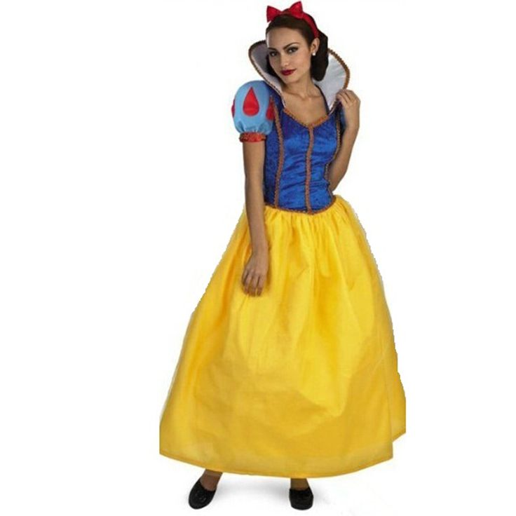 Adult Snow White  Costume Sexy Snow White Cosplay Fantasia Halloween Costumes For Women Princess Dress Fancy party dress