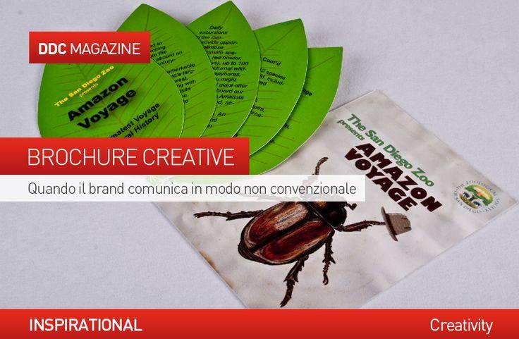 #Brochure creative: quando il #brand comunica in modo non convenzionale. http://www.danieladicosmoadv.it/blog/?p=7052